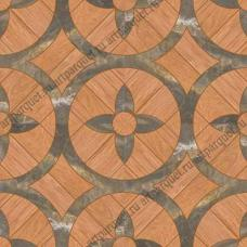 Модульный паркет Artparquet с камнем 9-028