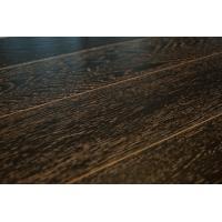 Паркетная доска Amber Wood Дуб Мокко Браш Лак 14х189х1860 мм