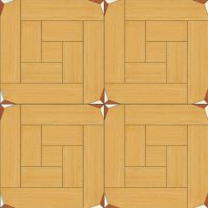 Мозаичный паркет художественный (Дуб селект, клён, мербау) М18