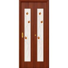 Дверь межкомнатная складная ламинированная Bravo, 22Х