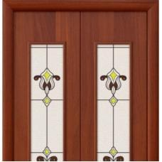 Дверь межкомнатная складная ламинированная Bravo, 23Х
