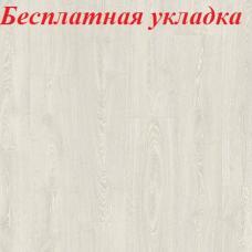Ламинат влагостойкий Quick-Step IMPRESSIVE ДУБ ФАНТАЗИЙНЫЙ БЕЛЫЙ IM3559, однополосный