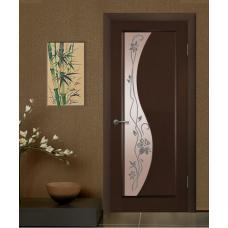 Дверь межкомнатная Виктория Виктория Элеонора стекло