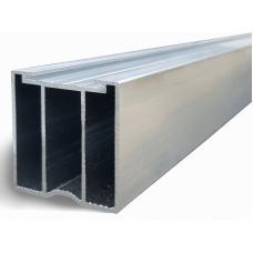 Лага алюминиевая 35х40 с двумя дополнительными ребрами жесткости
