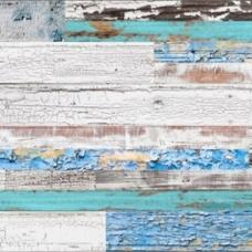 Пробковое напольное замковое покрытие LICO Print cork Country Aquamarine