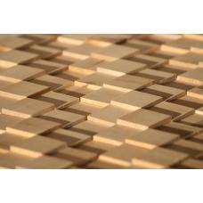 Деревянная 3Д мозаика Пирамида Береза