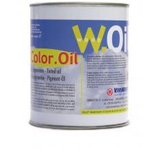 Масляная Тонировка VerMeister Color Oil цвет Black (Черный), на основе масла для дерева (без воска)