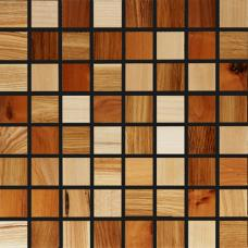 Мозаика из дерева 3D Микс (Дуб, Ясень, Клен)
