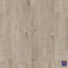 Ламинат Quick Step Rustic, Дуб серый теплый рустикальный, RIC3454, однополосный