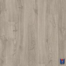 Ламинат Quick Step Eligna, Дуб теплый серый промасленный U3459, однополосный