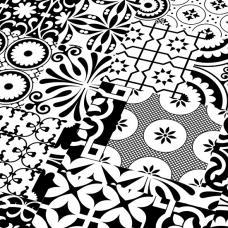 Ламинат Falquon коллекция Quadraic Black & White Q002