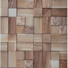 Деревянная 3Д мозаика Кантри Ясень