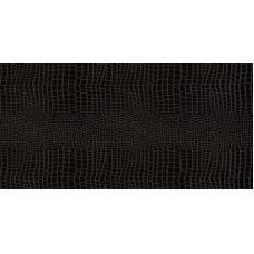 Кожаные замковые полы СORKSTYLE, Коллекция Leather CS, Kroko Black, 31 класс