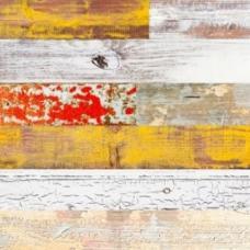 Пробковое напольное замковое покрытие LICO Print cork Country Lemonchiffon