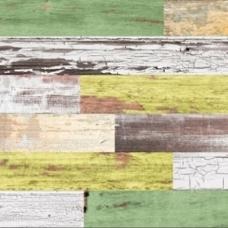 Пробковое напольное замковое покрытие LICO Print cork Country Limegreen