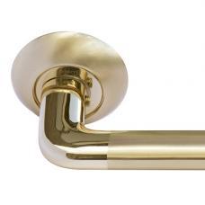Ручка дверная MORELLI MH-03 SG/GP Золото матовое
