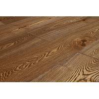 Паркетная доска Amber Wood Ясень Винтаж Браш Масло 14х189х1860 мм