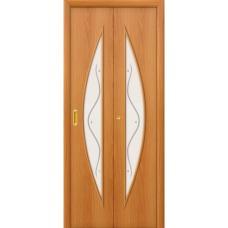 Дверь межкомнатная складная ламинированная Bravo, 5Ф