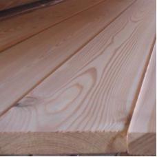Террасная доска из лиственницы гладкая сорт B