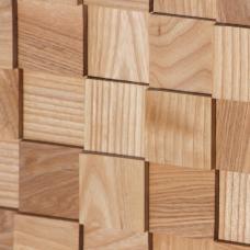 Деревянная 3Д мозаика Пирамида Ясень